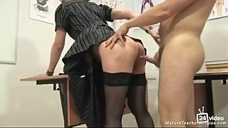 Russian mature teacher 6 - Leila