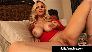 Horny Step Mom Julia Ann Gives Amazing Jack Off Instructions