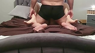 Step mom caught fucking step son having 13 inch dick size