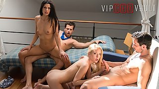 Los Consoladores - Cheating Sluts Kinky Swinger Foursome - VipSexVault