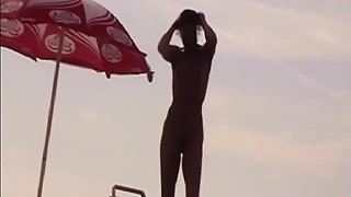 Nudist Couple on the Beach France - XVOYEURSEX