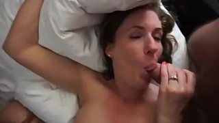 BBC fuck to orgasm chubby mateur belgian mom from DateFree.eu