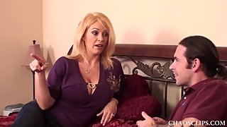 Oil Titty Fucking MILF Charlee Chase