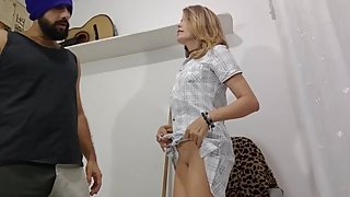 Thief surprise Mom and cuckold Milf in front of her Stepson