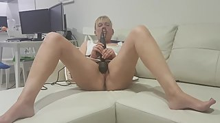 Hot milf with multiple orgasm