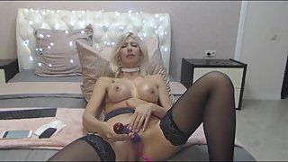 Hot Fuck Myself and Blowjob
