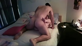 Husband films his wife gets hard fucked by young stud