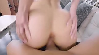 Nasty MILF stepmom gave him surprise for a last time