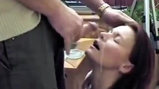 Mom's Nice Blowjob Cum on Face
