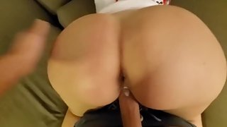 Rich Guy Pays a Huge Assed Model For Hotel Fucking