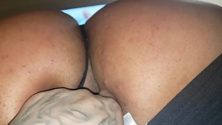 Raven Champagne barely legal Amateaur Milf Big Booty Spanked and finger fuc