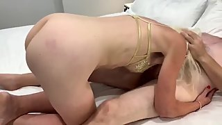 Blonde Slut Wife Cuckold Fuck