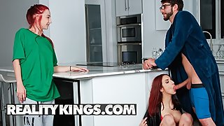 Reality Kings - Fucking my gfs stepmom April Snow