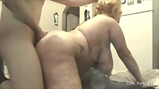 Blonde Neighbor Comes Over Naked