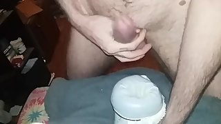 Another view for the ladies! Hot tattooed dirty talking male! Diy pussy