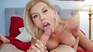 Big Tit MILF Innkeeper Amber Chase Begs For Heavy Load