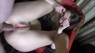 Amateur milf pov anal and facial