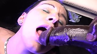 Monster Black Cock for Facial