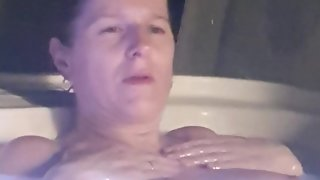 Mom strips infront of step son