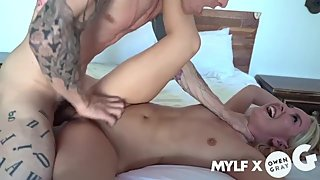 MILF FUCKED HARD BY A YOUNG MAN ROUGH SEX POV