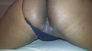 Horny wife begs husband to stay (PERFECT ASS)