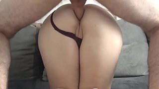 Big ass stepmom has anal sex with son