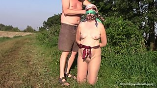 Amateur wife in scarfbondage (Compilation)
