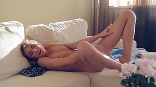 AWESOME TEEN CZECH BLONDE SCHOOLGIRL MASTURBATING TILL ORGASM