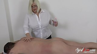 AgedLovE British Mature Hardcore Sex with Soldier