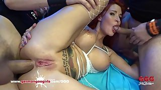 Alexxa Vice has anal fuck Bukkake and cumshots GermanGooGirls