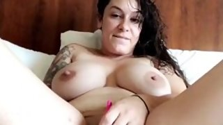 Hot MILF Cums for Snap Fans Huge Tits and Thick Ass
