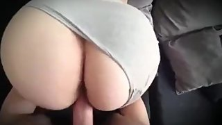 Stepmom can't handle 12 inch cock from stepson and screams to stop fuck