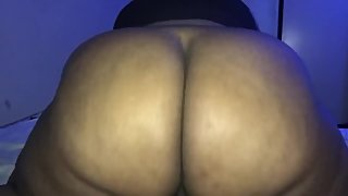 THICK REDBONE BIG BOOTY CUBAN BOUNCES ASS ON BBC